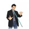 Летающая LED трость (синяя, реквизит+DVD)
