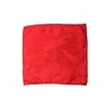 Шелковый платок (красный, 15х15 см)