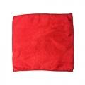 Шелковый платок (красный, 45х45 см)