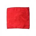 Шелковый платок (красный, 21х21 см)