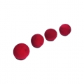 Поролоновые мячики (красные)