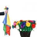 Появление цветочной клумбы (42 бутона)